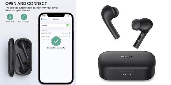 Aukey Sport auriculares inalámbricos baratos
