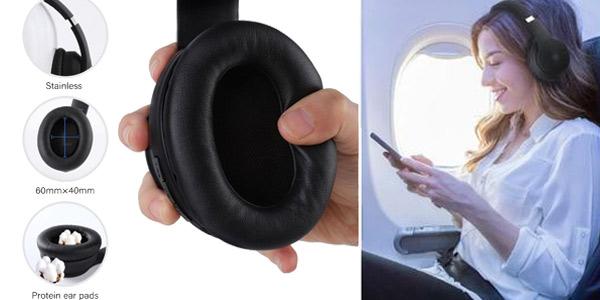Auriculares Oneodio A40 con cancelación de ruido y conexión Bluetooth 5.0 oferta en AliExpress