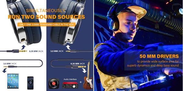 Auriculares OneOdio Pro-10 chollo en AliExpress