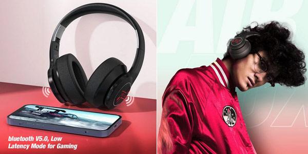 Auriculares inalámbricos con micrófono BlitzWolf® AirAux AA-ER3 Bluetooth V5.0 chollo en BangGood