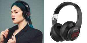 Auriculares inalámbricos con micrófono BlitzWolf® AirAux AA-ER3 Bluetooth V5.0 baratos en BangGood