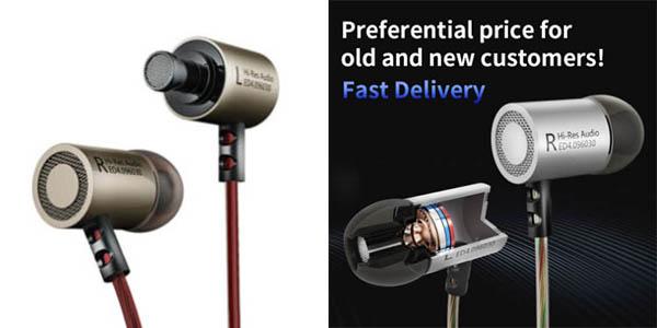 auriculares KZ ED4 micrófono incorporado buen sonido oferta