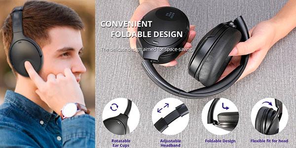 Auriculares Tronsmart Apollo Q10 con Bluetooth 5.0 y cancelación de ruido baratos
