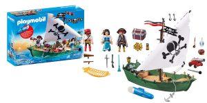 Barco Pirata Playmobil con motor submarino (70151) barato en Amazon