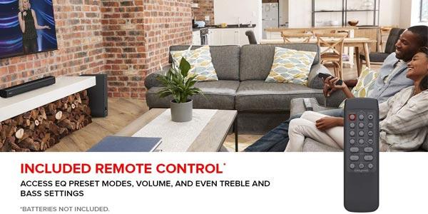 Barra de sonido Creative Stage 2.1 con subwoofer para TV o monitor oferta en Amazon