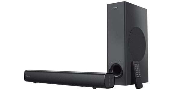 Barra de sonido Creative Stage 2.1 con subwoofer para TV o monitor barata en Amazon