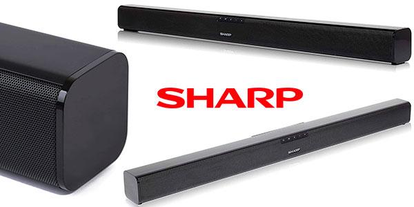 Barra de sonido Sharp HT-SB110 Bluetooth de 90 W barata