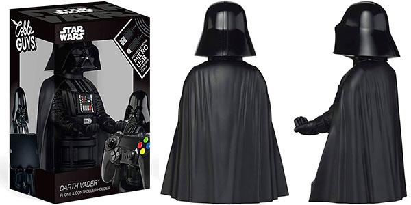 Soporte y base de carga Cable Guys Darth Vader para móvil y gamepad en oferta