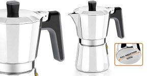 Cafetera italiana Bra Perfecta de 9 tazas barata en Amazon