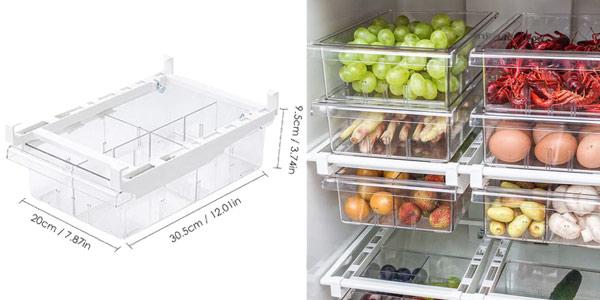 Cajón organizador para refrigerador oferta en AliExpress