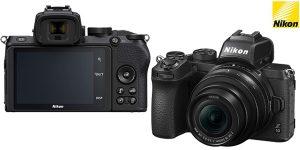 Cámara digital Evil Nikon Z 50 + obejetico Nikkor 16-50 DX VR barata en Amazon