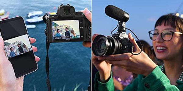 Cámara digital Evil Nikon Z 50 + obejetico Nikkor 16-50 DX VR chollo en Amazon
