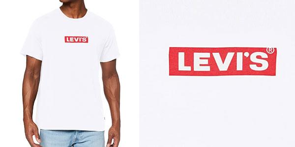 Camiseta Levi's Boxtab Graphic Tee para hombre barata en Amazon