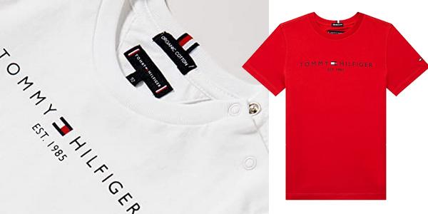 Camisetas Tommy Hilfiger Essential tee para niños chollo en Amazon