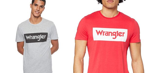 Camiseta Wrangler Logo tee barata