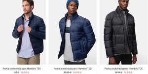 Carrefour Tex chaquetas promoción