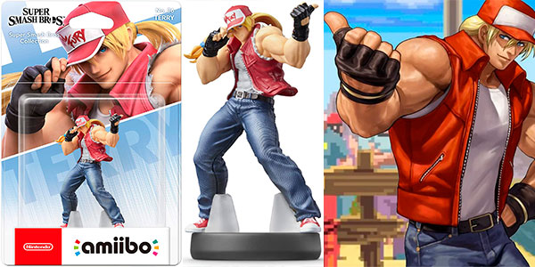 Reserva Amiibo Terry Bogard de Super Smash Bros