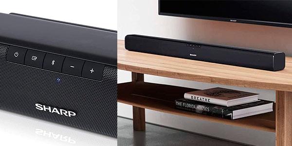 Chollo Barra de sonido Sharp HT-SB110 Bluetooth de 90 W