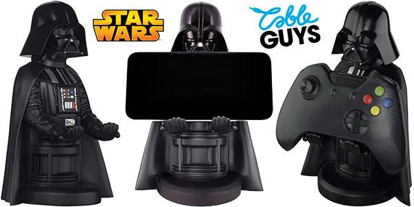 Chollo Soporte y base de carga Cable Guys Darth Vader para móvil y gamepad