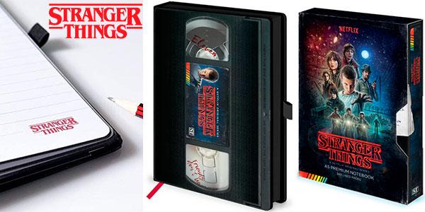 Chollo Cuaderno de notas A5 Stranger Things VHS