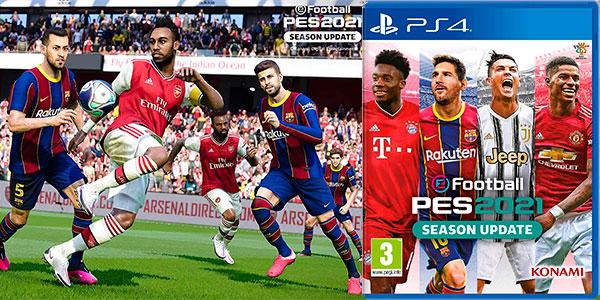 Chollo eFootball PES 2021 para PS4