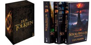 Chollo Estuche de regalo con 4 libros de Tolkien (El Hobbit + El Señor de los Anillos)