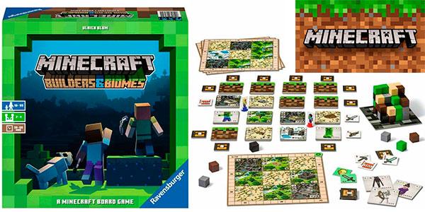 Chollo Juego de mesa Minecraft: Builders & Biomes
