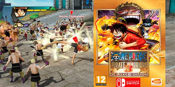 Chollo One Piece Pirate Warriors 3 Deluxe para Switch (código descarga digital)