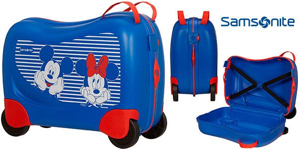 Chollo Maleta spinner infantil Samsonite Dream Rider Disney de 28 litros