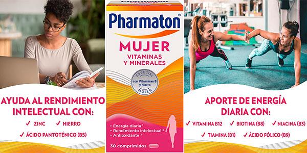 Chollo Pharmaton Mujer Vitaminas y Minerales de 30 comprimidos