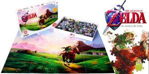 Chollo Puzle Jigsaw Zelda Ocarina of Time de 1.000 piezas
