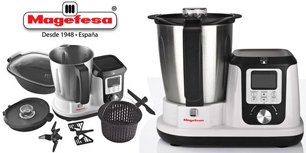 Chollo Robot de cocina Magefesa MagChef Plus de 1.200 W y 3.300 ml