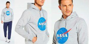 Chollo Sudadera NASA 0297372 para hombre