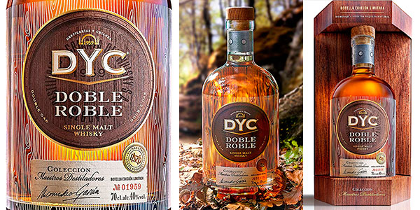 Chollo Whisky DYC Doble Roble Edición Limitada de 700 ml