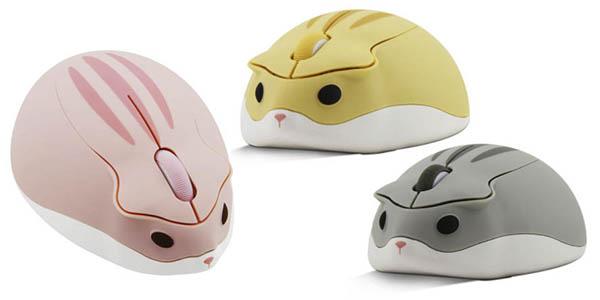 Chyi mouse inalámbrico forma ratón chollo