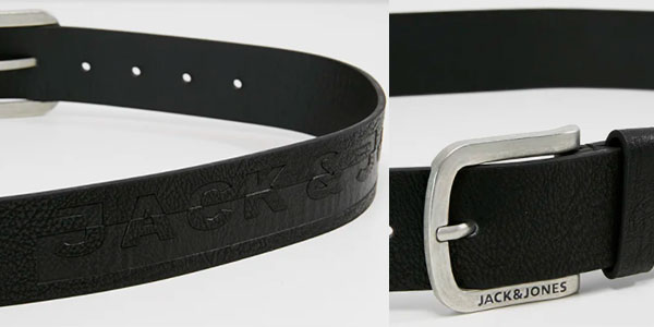 Cinturón Jack & Jones Jacharry para hombre barato