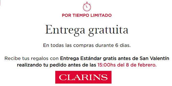 Clarins online envío gratis
