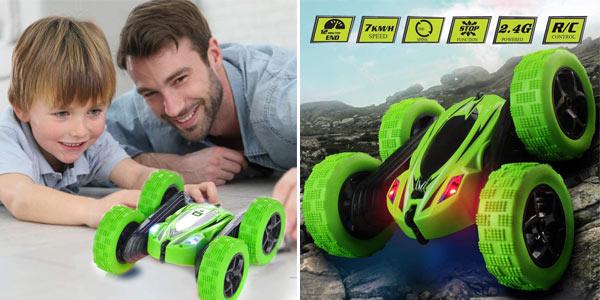 Coche Teledirigido JYToyz Stunt Race Car de 2.4 GHz barato en Amazon