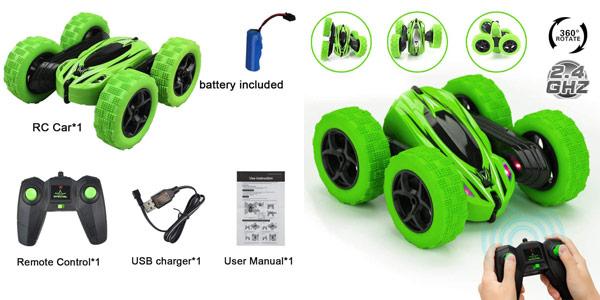 Coche Teledirigido JYToyz Stunt Race Car de 2.4 GHz chollo en Amazon