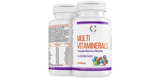 Complejo vitamínico x90 Cápsulas Multi vitaminerals Z90 oferta en Amazon