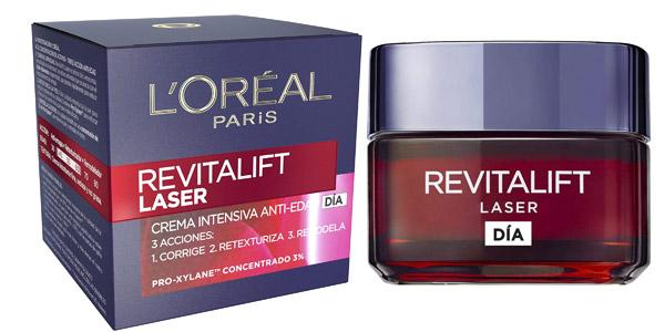 L'Oréal París Revitalift Láser Crema de Día Anti-Edad Intensiva de 50 ml barata en Amazon