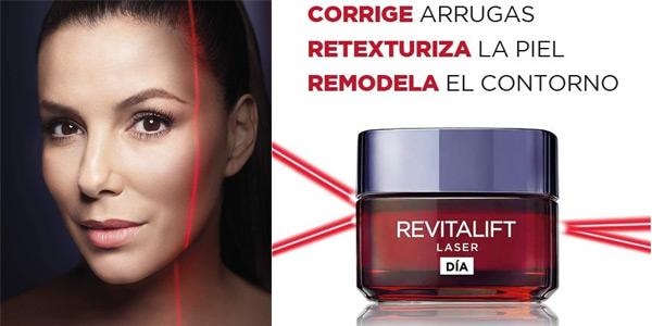 L'Oréal París Revitalift Láser Crema de Día Anti-Edad Intensiva de 50 ml chollo en Amazon