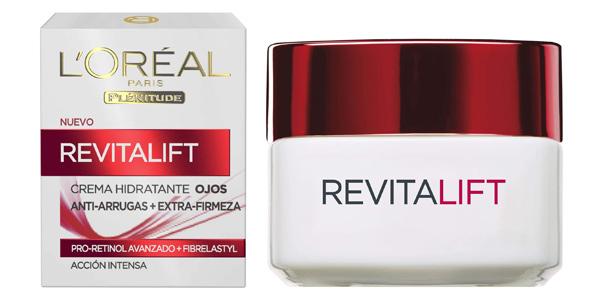 Contorno de Ojos Anti-edad Hidratante L'Oréal Paris Revitalift de 15 ml barato en Amazon