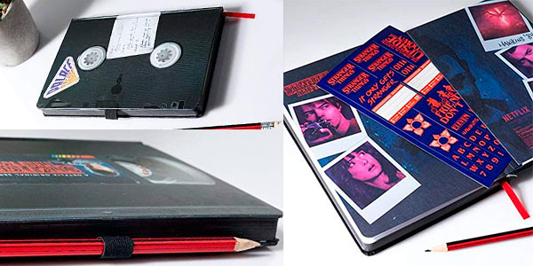 Cuaderno de notas A5 Stranger Things VHS barato
