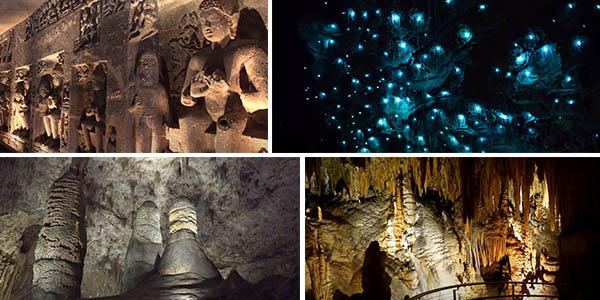 cuevas grutas subterráneas vídeos 4k YouTube