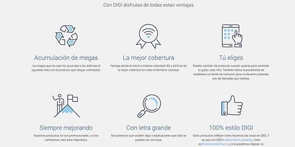 Digi plan Mobil fibra promoción tarifa móvil Internet