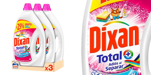 Dixan Total Detergente líquido barato