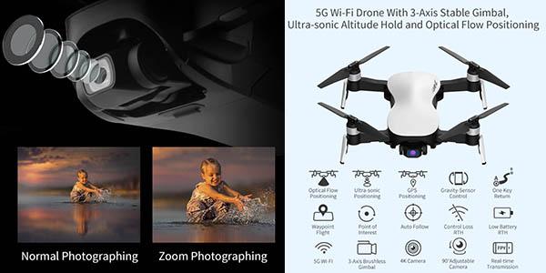 dron JJRC x12 5G relación calidad-precio alta