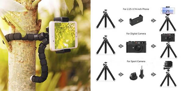 Duszake mini trípode fotografía oferta