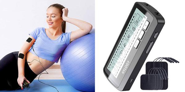 Electroestimulador muscular TENS Hilogy barato en Amazon